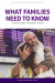 What Families Need to Know (Pack of 40)