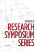 Research Symposium Series - Volume 3